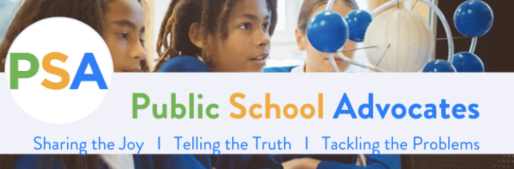 Public School Advocates banner